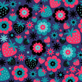 Colorful seamless pattern Stock Photos