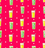 Colorful Seamless Pattern or Background Royalty Free Stock Photos
