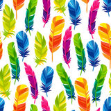 Colorful seamless pattern with bright abstract Royalty Free Stock Photos
