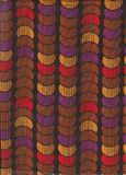 Colorful seamless pattern with circles Stock Photography