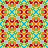 Colorful seamless pattern Stock Image