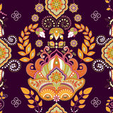 Colorful seamless pattern, floral wallpaper Royalty Free Stock Photo
