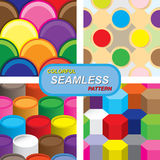 Colorful seamless pattern. Illustration of colorful seamless pattern royalty free illustration