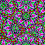 Colorful seamless pattern mandala. Can be used for wallpaper, pattern fills, web page background, surface textures. Arabic, India, Islam, Asia. Happy desig Royalty Free Stock Image