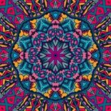 Colorful seamless pattern mandala design. Tribal indian  ethnic seamless design. Festive colorful mandala pattern Royalty Free Stock Photo