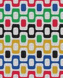 Colorful seamless pattern, mosaic background Stock Photos