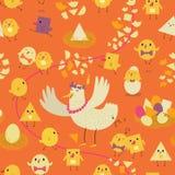 Colorful seamless pattern Stock Photo