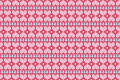Colorful seamless patterns Valentine day Stock Photo