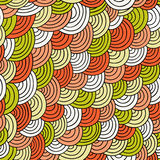 Colorful seamless squama pattern Royalty Free Stock Photos