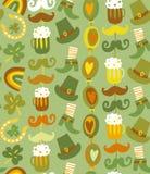 Colorful seamless St.Patrick's day pattern Stock Photo