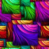 Colorful seamless textured background Royalty Free Stock Image