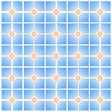Colorful seamless tile pattern Royalty Free Stock Image