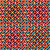 Colorful seamless/tileable overlapping circles pattern. Colourful seamless/tileable overlapping circles pattern. Horizontally and vertically seamless vector Stock Image