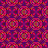 Colorful seamless vector pattern ornamental. Geometric print. Floral vector festive abstract seamless pattern. tiled background Stock Image