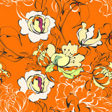 Colorful seamless wallpaper Royalty Free Stock Photos
