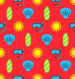 Colorful Seamless Wallpaper or Background Stock Photo