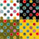 Colorful Seamless Yarn Balls Pattern. Seamless Yarn Balls Pattern. Vector EPS10. No effects used Stock Image