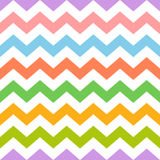 Colorful seamless zig zag pattern Royalty Free Stock Photos