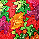 Colorful seampless pattern Stock Photography