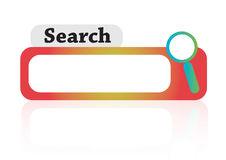Colorful Search - vector Stock Photography