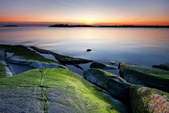 Colorful seascape Stock Photo