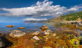 Colorful seascape Stock Image