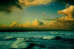 Colorful Seascape Royalty Free Stock Image