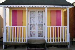 Seaside beach hut. Stock Photos