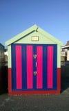 Colorful seaside hut  Stock Image
