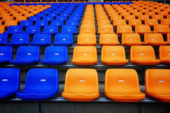 Colorful seat Stock Image