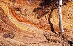 Colorful sedimentary rock formations. West MacDonnell Ranges, Northern Territory Central Australia Stock Images