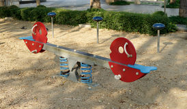 Colorful seesaw Stock Photos