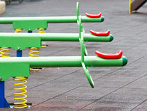 Colorful Seesaw. Stock Photos