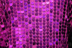 Colorful sequined texture Royalty Free Stock Images