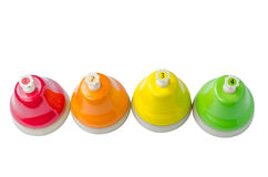 Colorful service bells - toy for children Stock Images