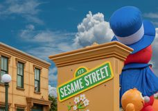 Free Colorful Sesame Street Float At Seaworld 85 Royalty Free Stock Image - 160665906