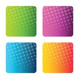 Colorful Set of abstract backgrounds Stock Photo