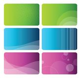 Colorful Set of abstract backgrounds Royalty Free Stock Photography