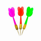 Colorful set of darts or arrow Royalty Free Stock Photos