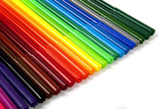 Colorful set of pen Royalty Free Stock Photos