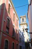 Colorful Seville street Royalty Free Stock Photo