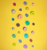 Colorful Sewing Buttons Stock Photo