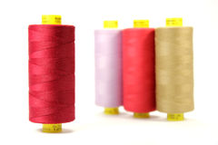 Colorful sewing thread Stock Images