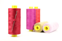 Colorful sewing thread Royalty Free Stock Images