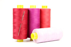 Colorful sewing thread Royalty Free Stock Photography