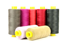 Colorful sewing thread Royalty Free Stock Image