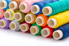 Colorful sewing threads Royalty Free Stock Photography