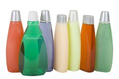 Colorful Shampoo Royalty Free Stock Photos