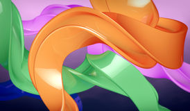 Colorful shapes Stock Images