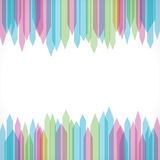 Colorful sharp edge strip background  Stock Photos